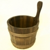 Sauna bucket, pine tree, 7L