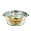 Galvanized bowl, 26L.