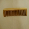 Wooden hair brush, 17cm.