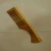 Wooden brush with handle