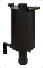 Chimney pipe integrated water tank, 38L